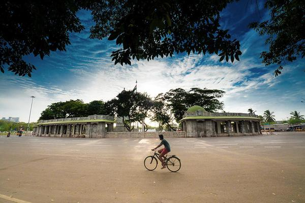 Image of Bicycle, Sky, Cycling, Mode of transport, Vehicle etc.