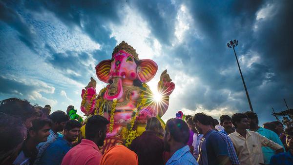 Image of People, Crowd, Sky, Event, Festival, Fun etc.