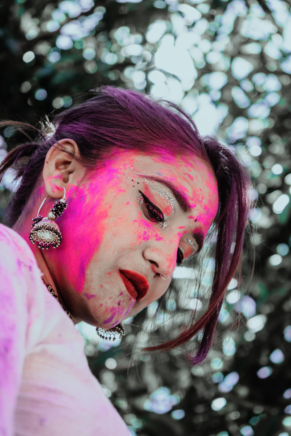 Image of Hair, Pink, Green, Purple, Red, Beauty etc.