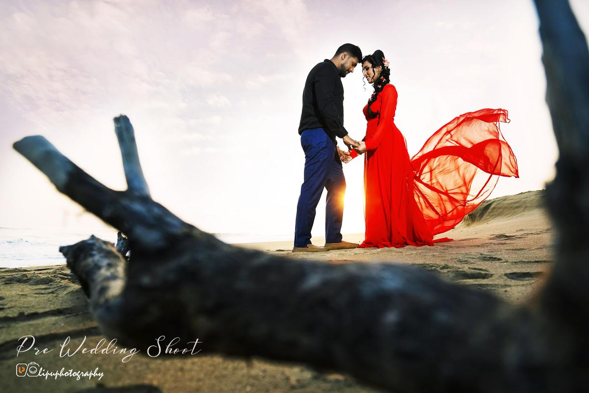 Image of People in nature, Photograph, Red, Bride, Male, Ceremony etc.