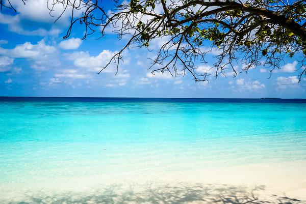 Image of Sky, Body of water, Sea, Tropics, Natural landscape, Nature etc.