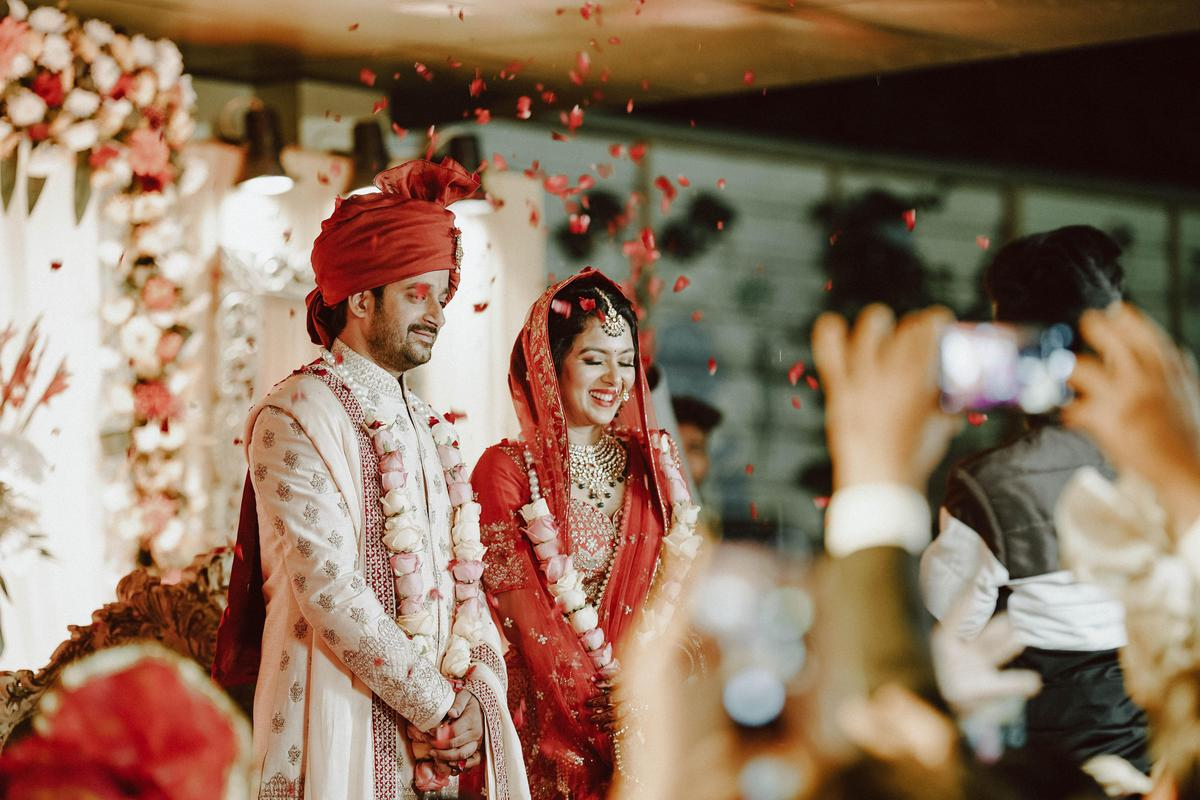 Image of Red, Marriage, Ceremony, Bride, Tradition, Yellow etc.