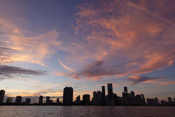 Image of Sky, City, Afterglow, Skyline, Daytime, Cityscape etc.