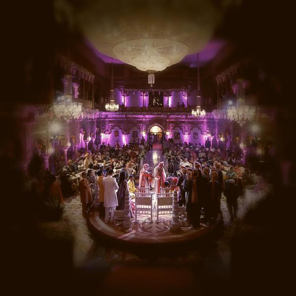Image of Purple, Light, Lighting, Violet, Function hall, Stage etc.