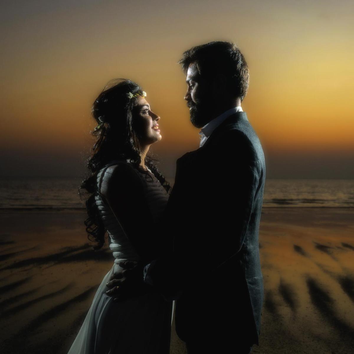 Image of Photograph, Romance, Sky, Love, Backlighting, Photography etc.