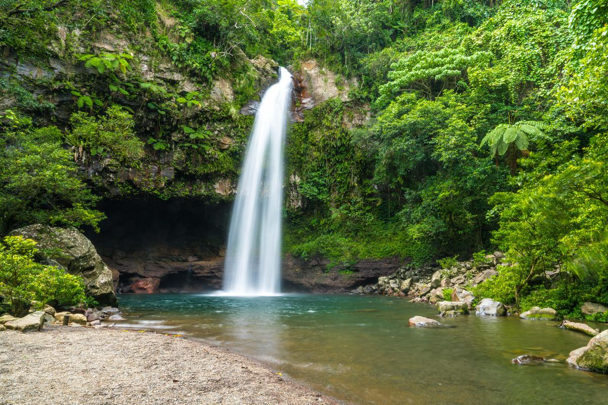 Image of Waterfall, Water resources, Body of water, Natural landscape, Nature, Nature reserve etc.