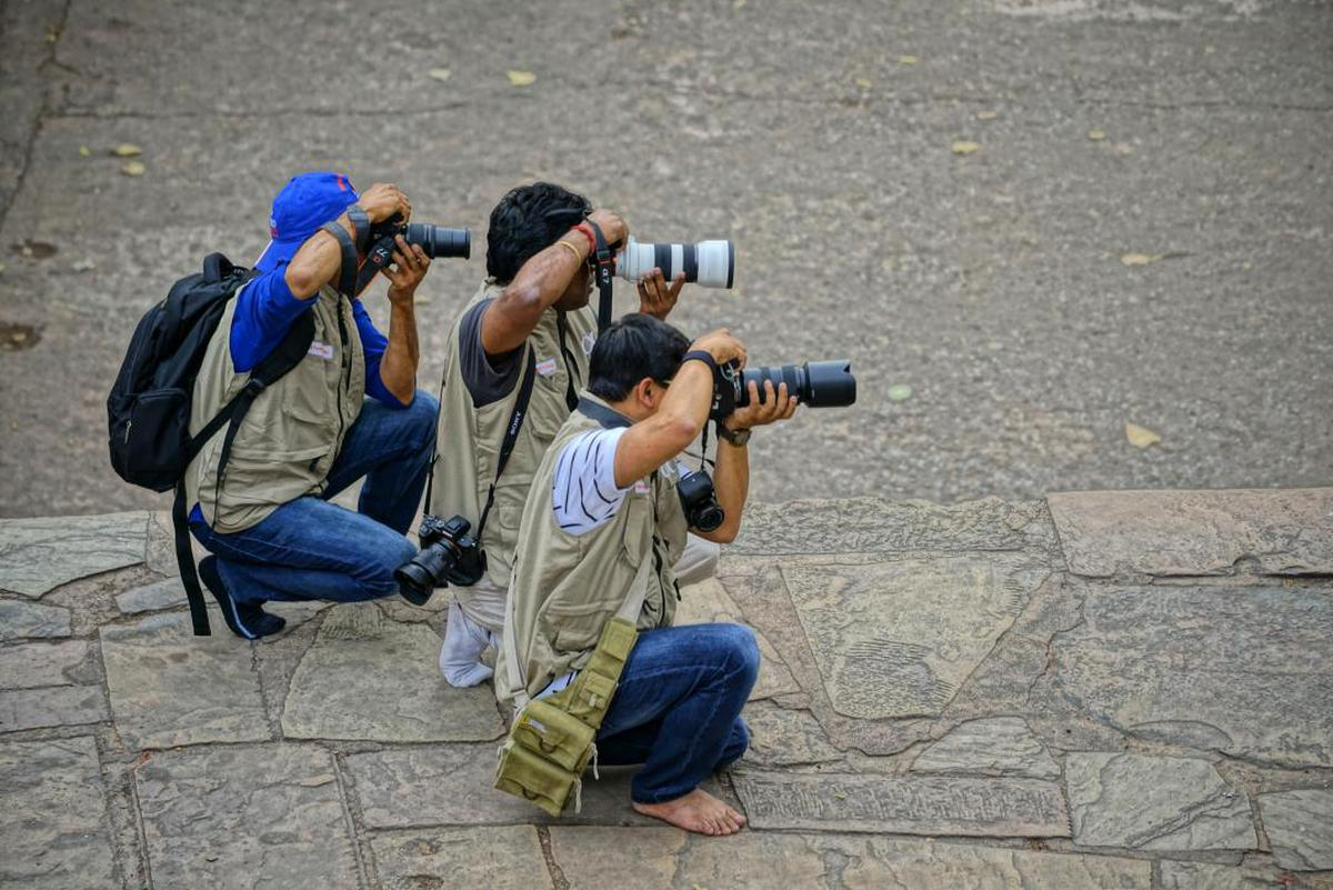 Image of Camera operator etc.
