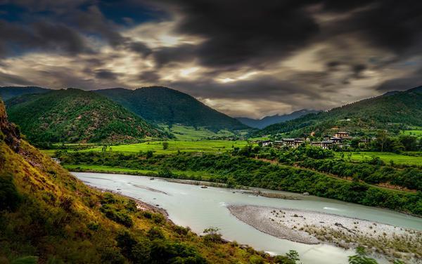 Image of Highland, Natural landscape, Nature, Sky, Mountain, Mountainous landforms etc.