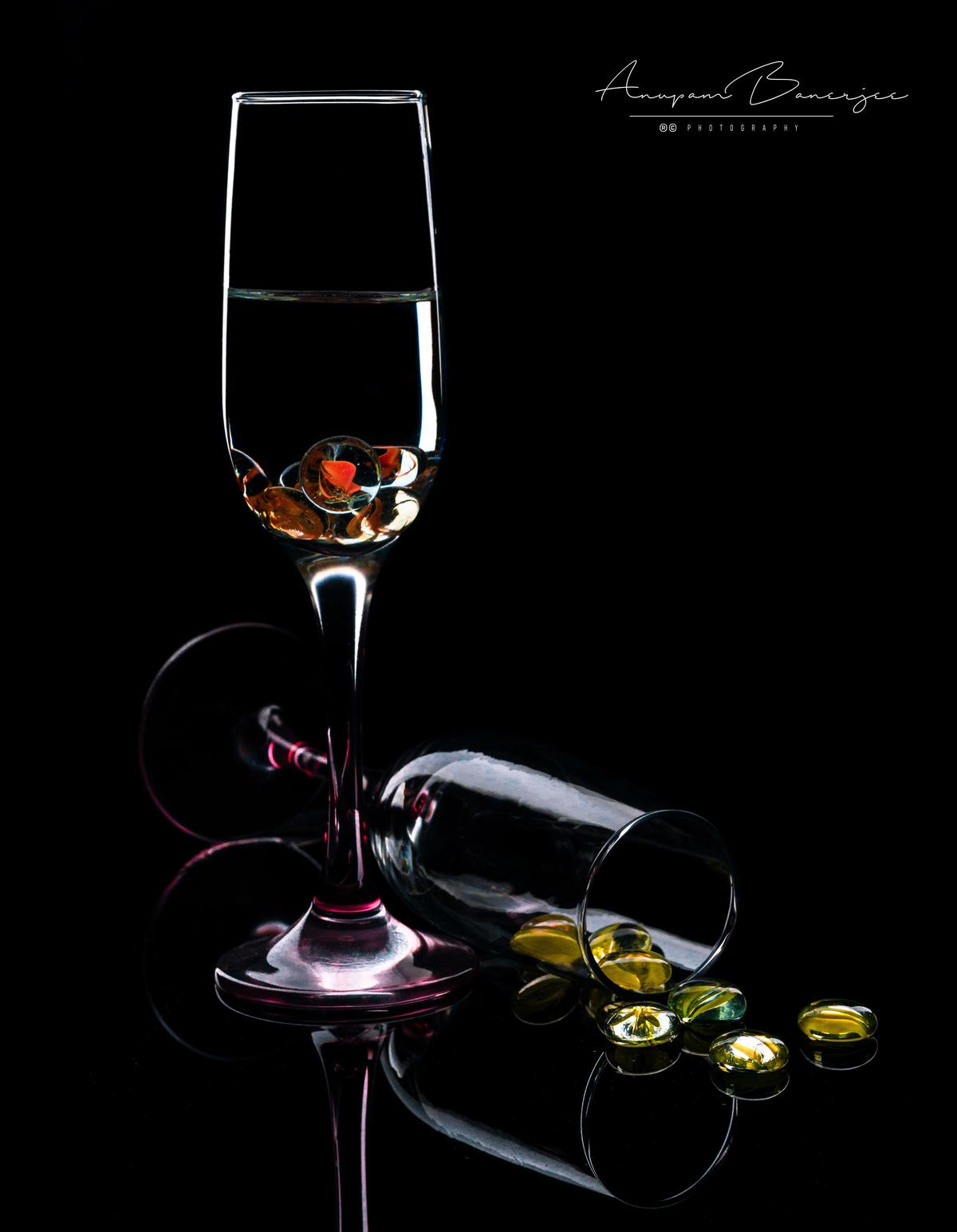 Image of Stemware, Wine glass, Champagne stemware, Glass, Drinkware, Still life photography etc.