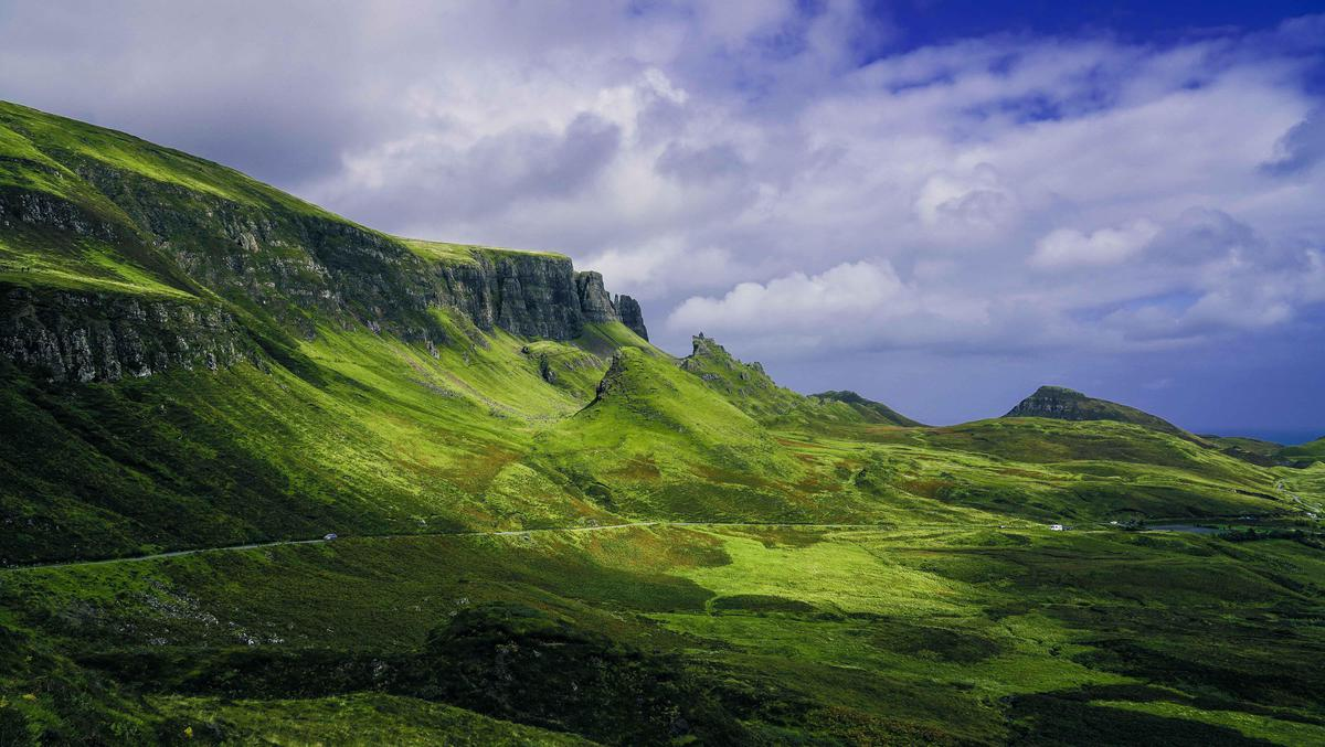 Image of Mountainous landforms, Highland, Mountain, Nature, Hill, Natural landscape etc.
