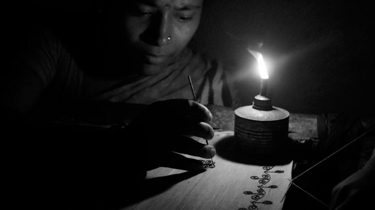 Image of Darkness, Lighting, Black-and-white, Candle etc.