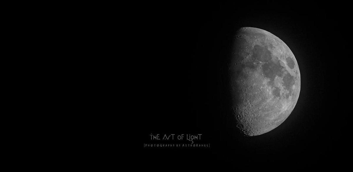 Image of Moon, Black, Astronomical object, Atmospheric phenomenon, Darkness, Atmosphere etc.