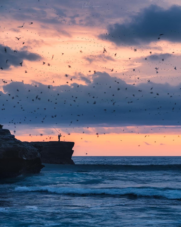 Image of Sky, Horizon, Sea, Ocean, Cloud, Water etc.