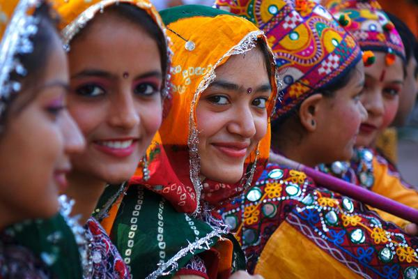 Image of People, Tradition, Yellow, Smile etc.