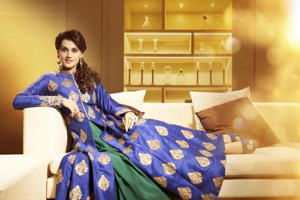 Image of Clothing, Blue, Yellow, Purple, Sari etc.