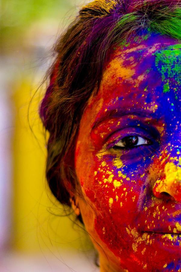 Image of Face, Colorfulness, Head, Yellow, Orange, Nose etc.