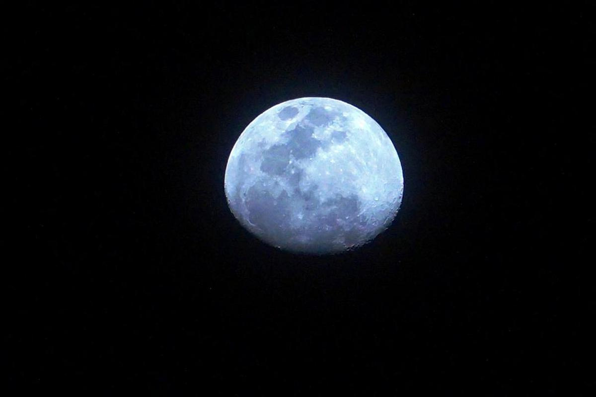 Image of Moon, Sky, Astronomical object, Atmosphere, Celestial event, Moonlight etc.