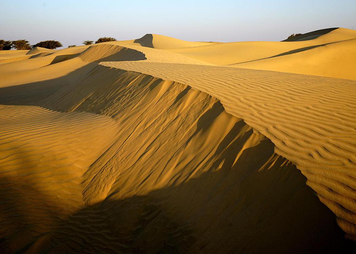 Image of Desert, Sand, Erg, Natural environment, Aeolian landform, Sahara etc.