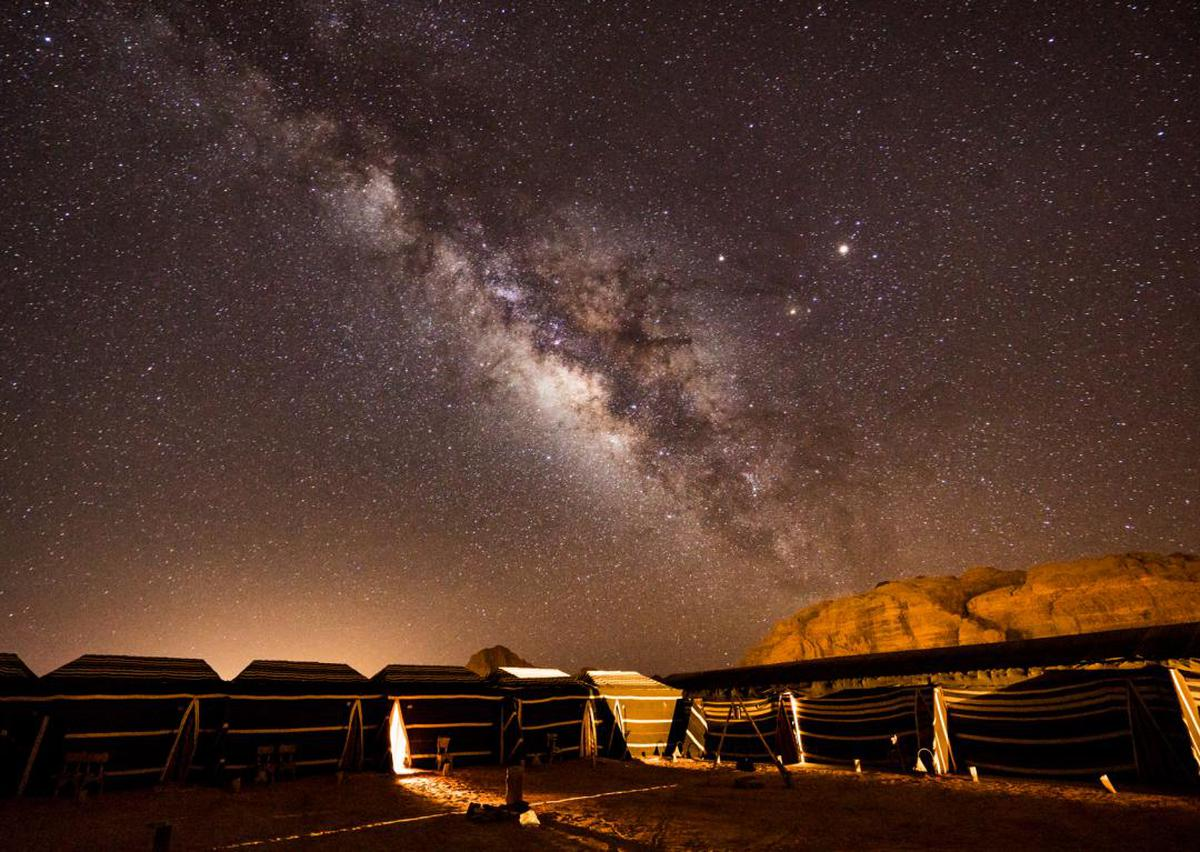 Image of Sky, Night, Astronomical object, Star, Atmosphere etc.