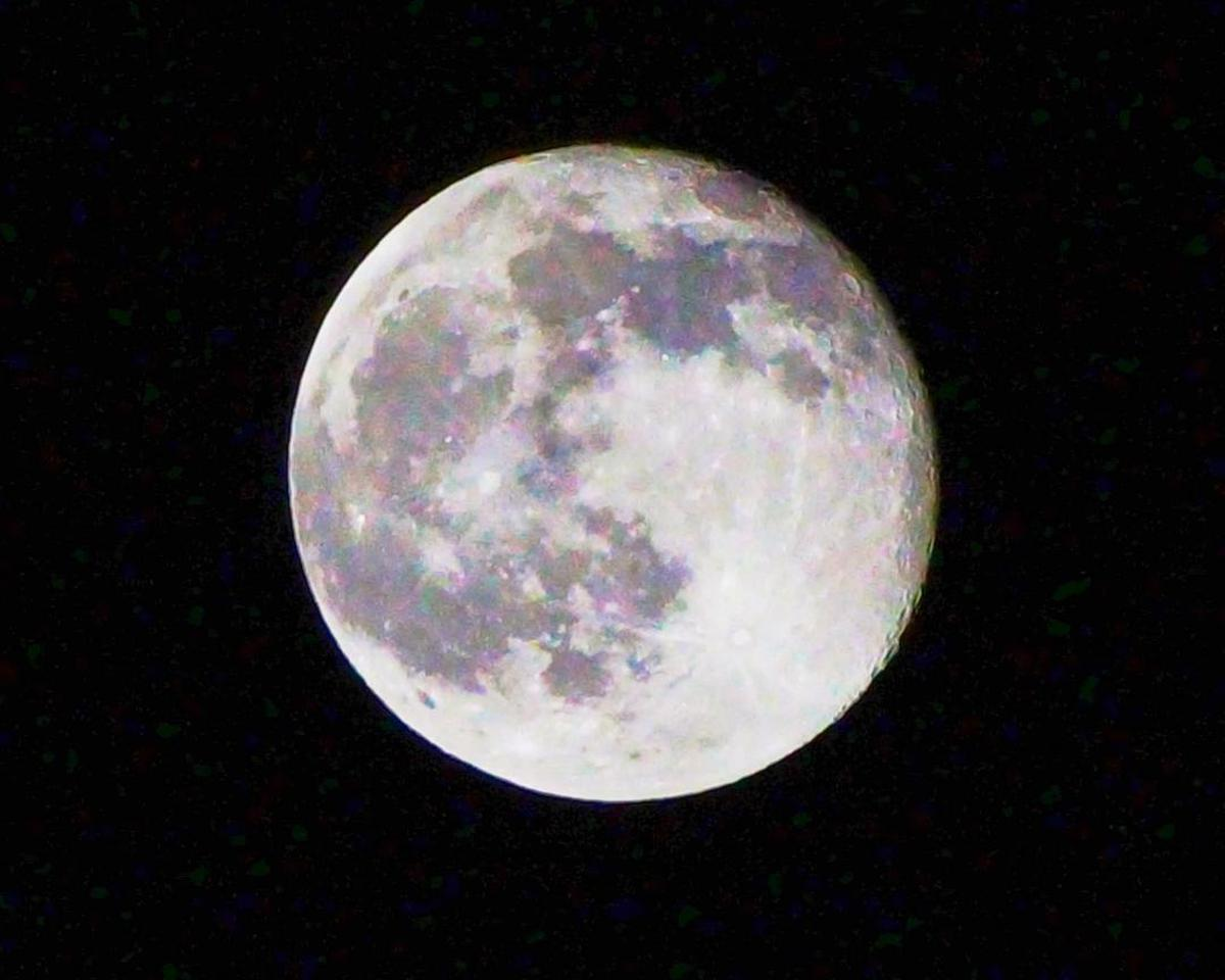Image of Moon, Full moon, Nature, Celestial event, Astronomical object, Atmospheric phenomenon etc.