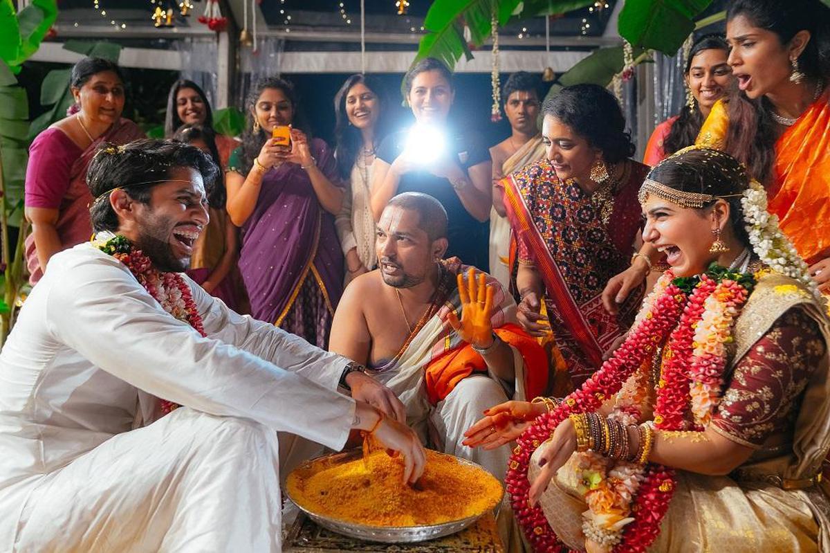 Image of Ritual, Marriage, Ceremony, Event, Sari etc.