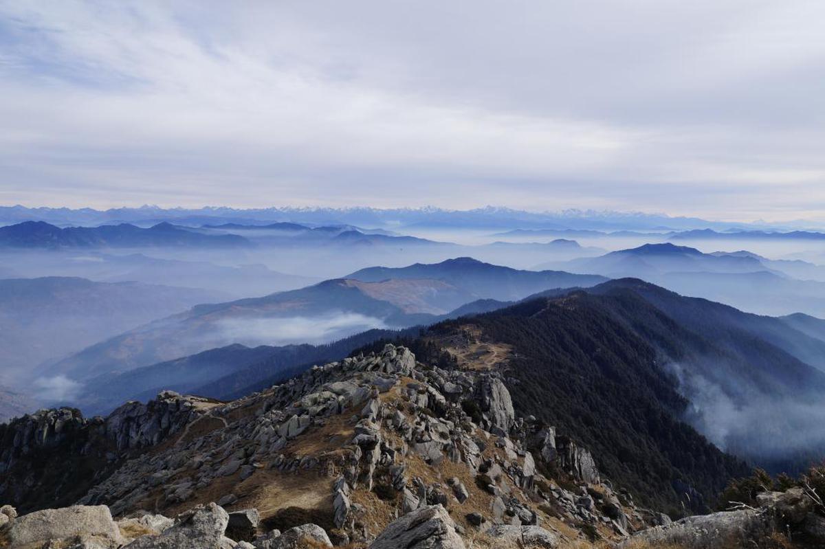 Image of Mountainous landforms, Mountain, Highland, Ridge, Sky, Mountain range etc.