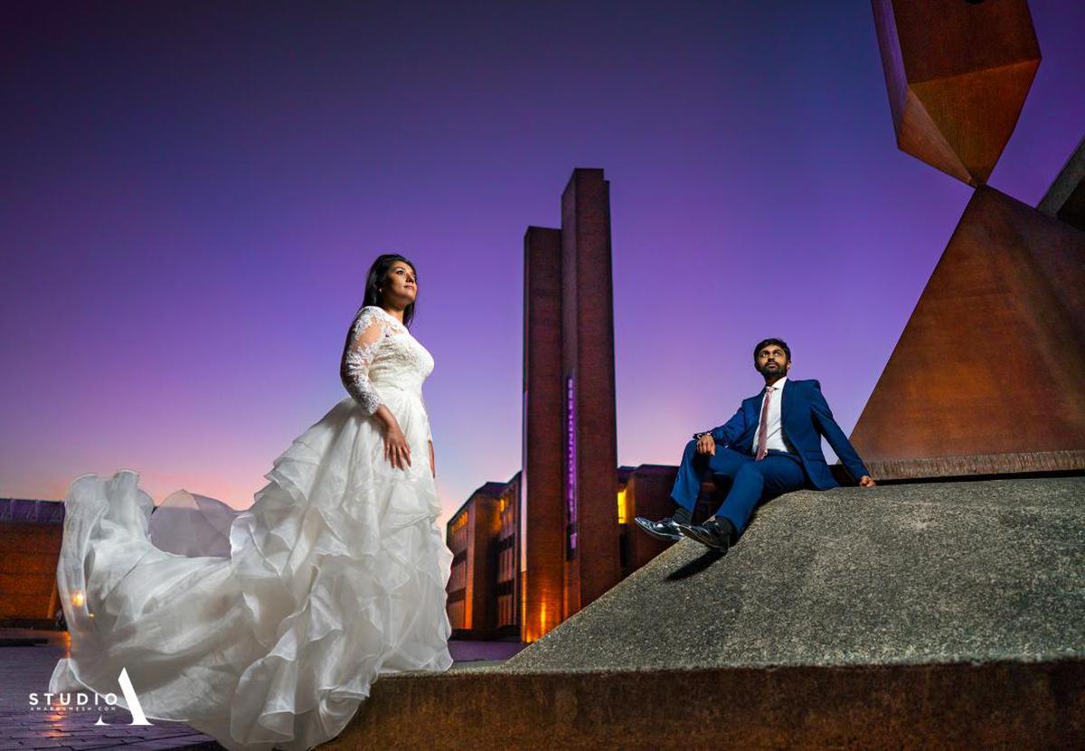 Image of Photograph, Bride, Dress, Fashion etc.