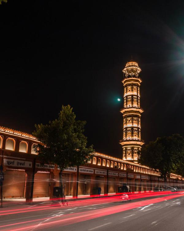Image of Landmark, Night, Sky, Tower, Light, Lighting etc.