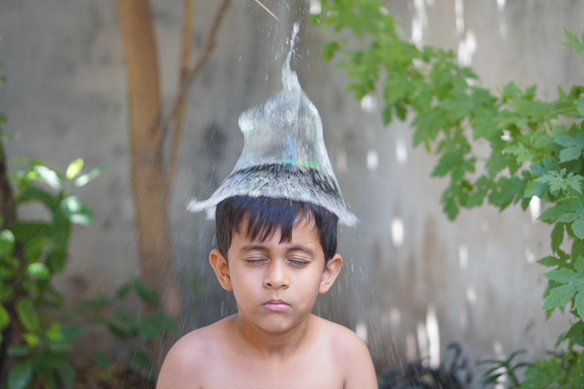 Image of Water, Child, Head, Skin, Male etc.