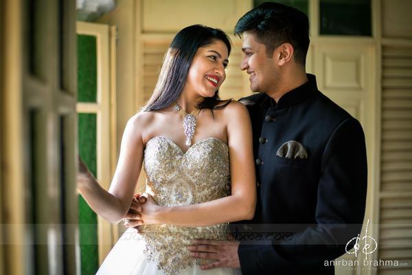 Image of Photograph, Bride, Facial expression, Dress, Wedding dress, Yellow etc.