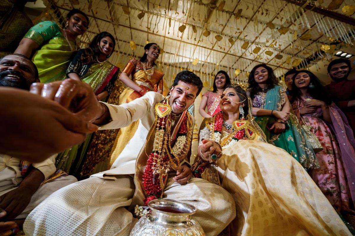 Image of Sari, Rite, Ritual, Event, Pattern, Marriage etc.
