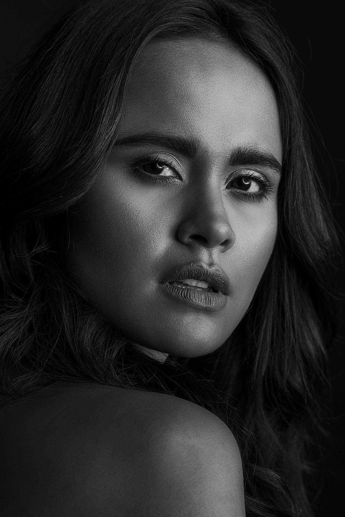 Image of Photo shoot, Black-and-white, Eyebrow, Model, Beauty, Black etc.