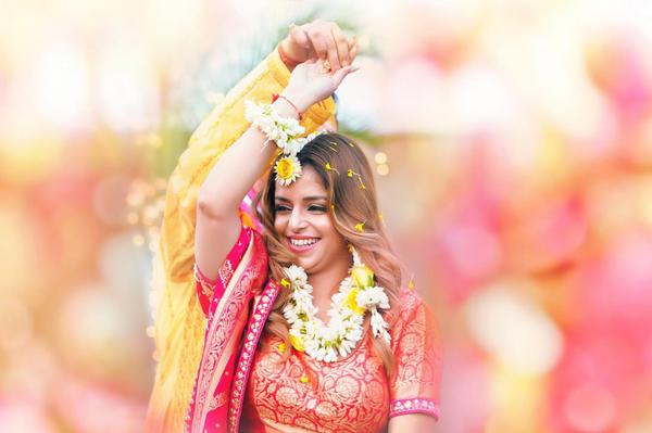 Image of Pink, Photograph, Skin, Yellow, Beauty, Tradition etc.