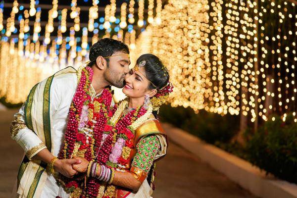 Image of Photograph, Marriage, Sari, Ceremony, Yellow, Tradition etc.