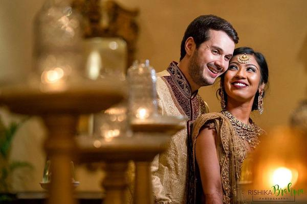Image of Photograph, Marriage, Sari, Yellow, Bride, Tradition etc.