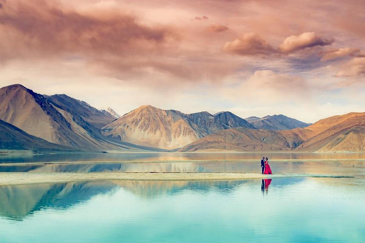 Image of Mountainous landforms, Nature, Mountain, Reflection, Sky, Natural landscape etc.