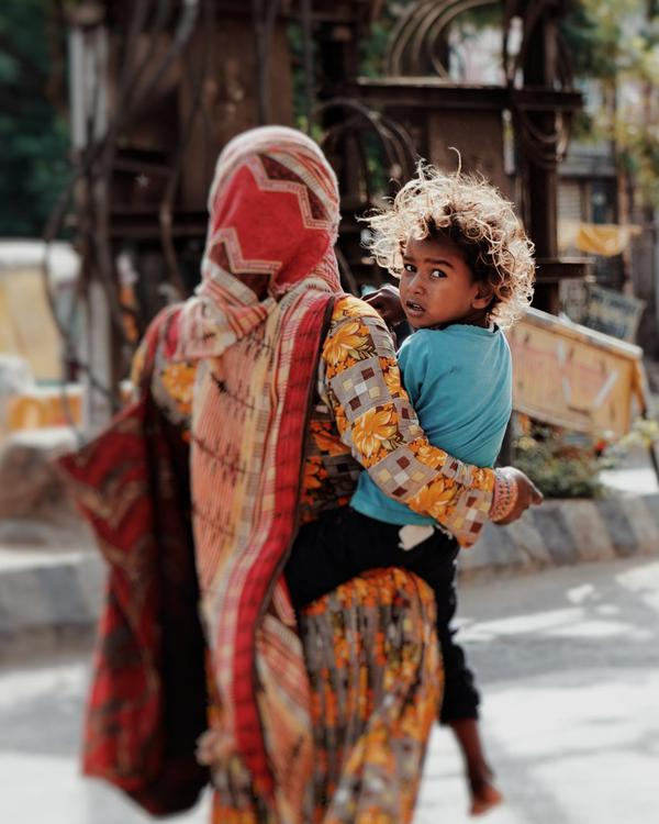 Image of Interaction, Happy, Temple, Street fashion, Hairstyle etc.