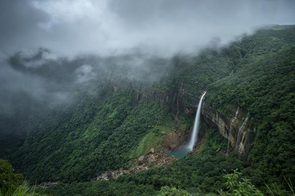 Image of Nature, Water, Natural landscape, Highland, Vegetation, Hill station etc.