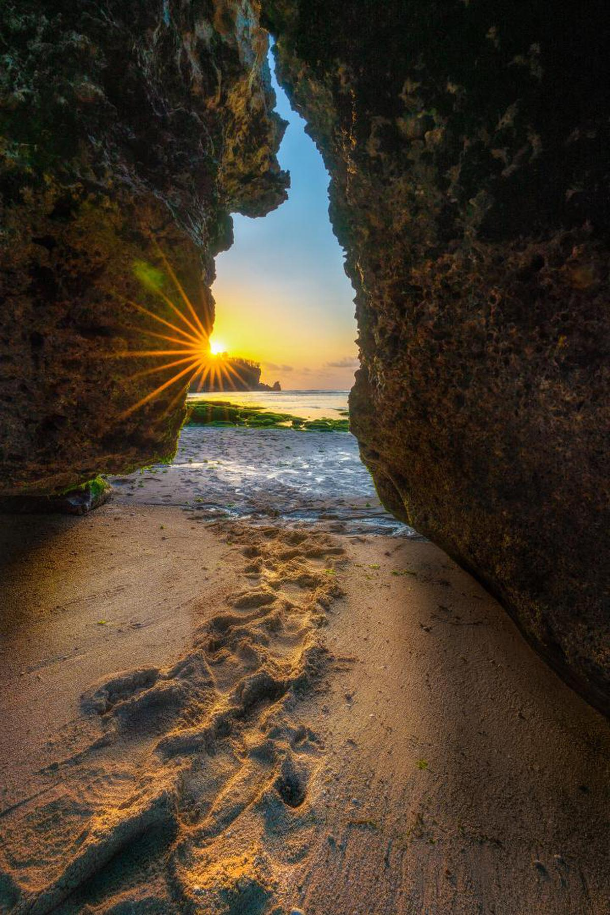 Image of Nature, Rock, Formation, Water, Sea, Sky etc.