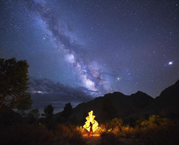 Image of Sky, Night, Atmosphere, Cloud, Star, Astronomy etc.