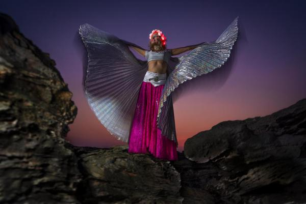 Image of Angel, Pink, Beauty, Supernatural creature, Lady, Fictional character etc.