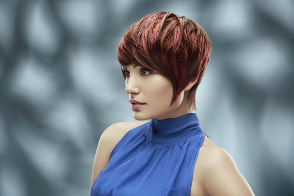 Image of Hair, Face, Hairstyle, Blue, Red, Beauty etc.