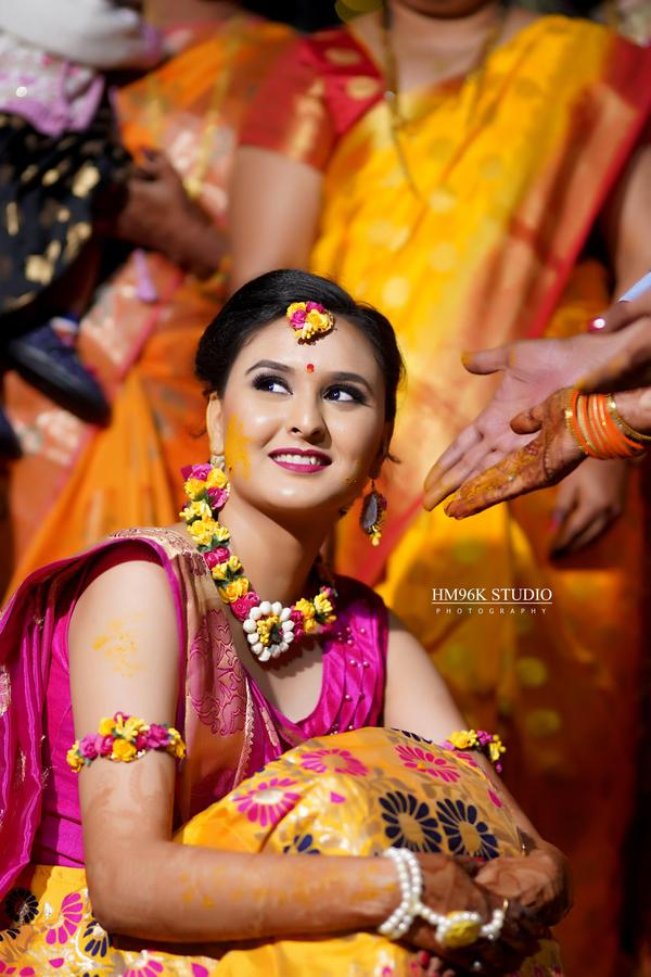 Image of Sari, Yellow, Event, Tradition etc.