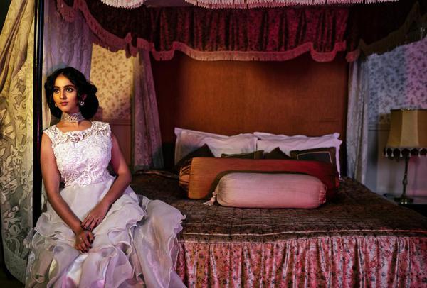 Image of Bed, Purple, Bedroom, Pink etc.