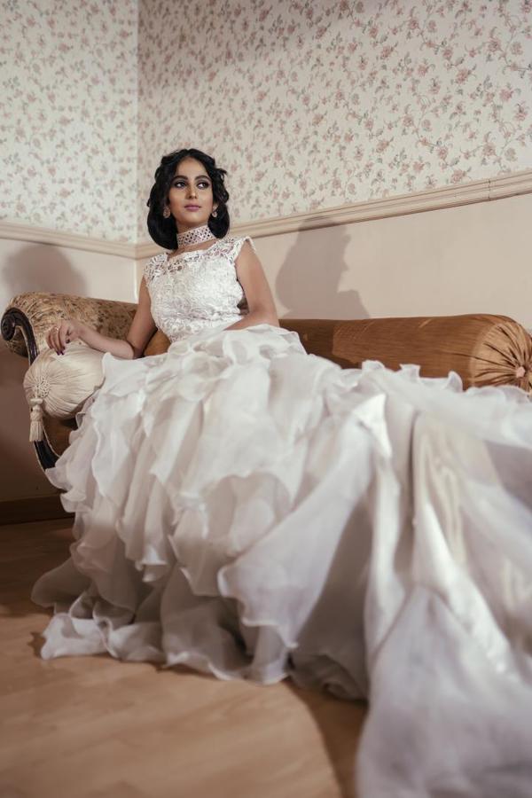 Image of Wedding dress, Gown, Dress, Clothing, Bridal clothing, Lady etc.
