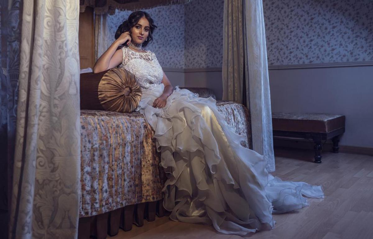 Image of Wedding dress, Gown, Dress, Clothing, Bride, Bridal clothing etc.