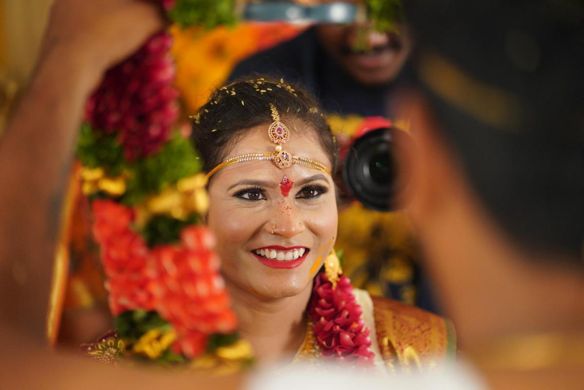 Image of Smile, Marriage, Tradition, Beauty, Yellow etc.