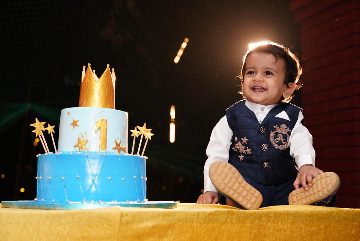 Image of Child, Dessert, Icing, Food, Sugar paste, Lighting etc.