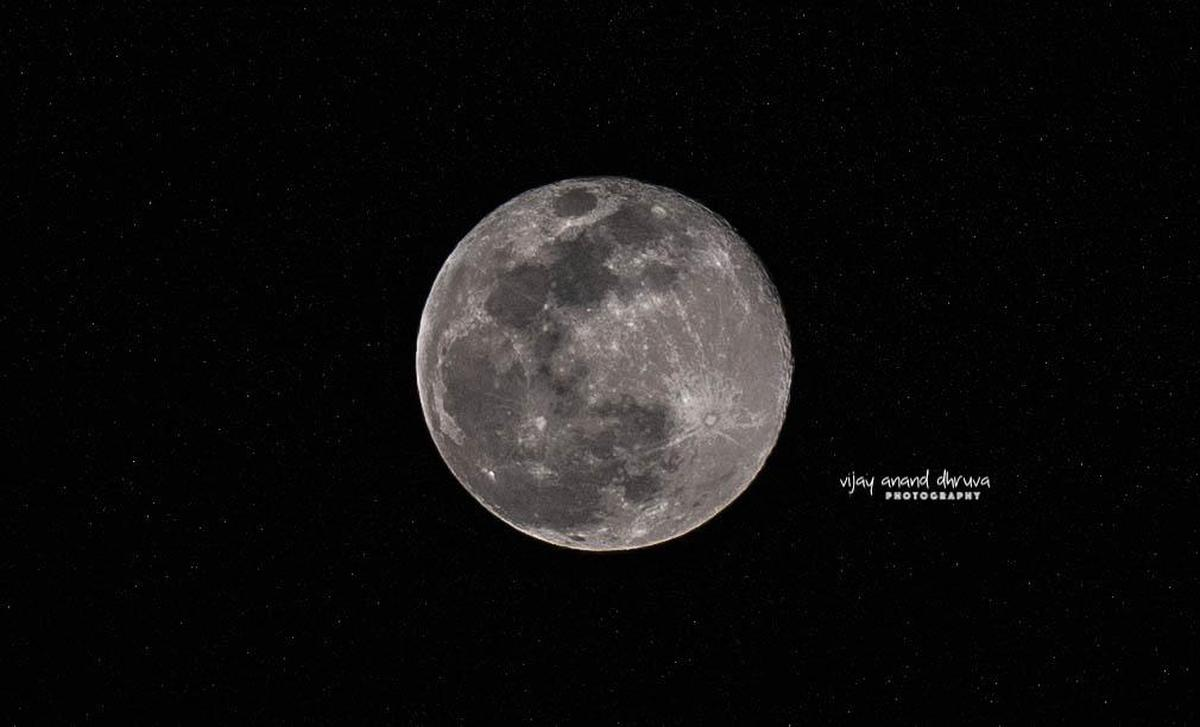 Image of Moon, Celestial event, Astronomical object, Full moon, Atmospheric phenomenon, Atmosphere etc.