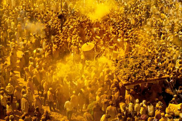Image of Yellow, Crowd etc.